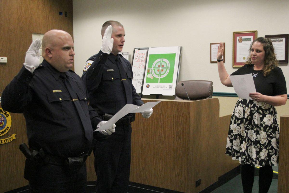 Kingsburg Police Department Badge - Year of Clean Water