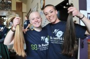 carroll students shave heads