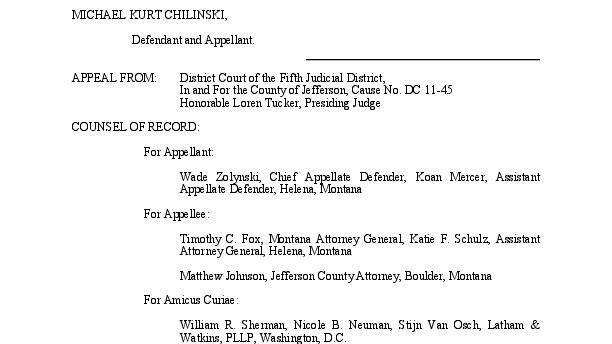 Montana Supreme Court upholds decision in Chilinski Malamute abuse case  News  helenaircom