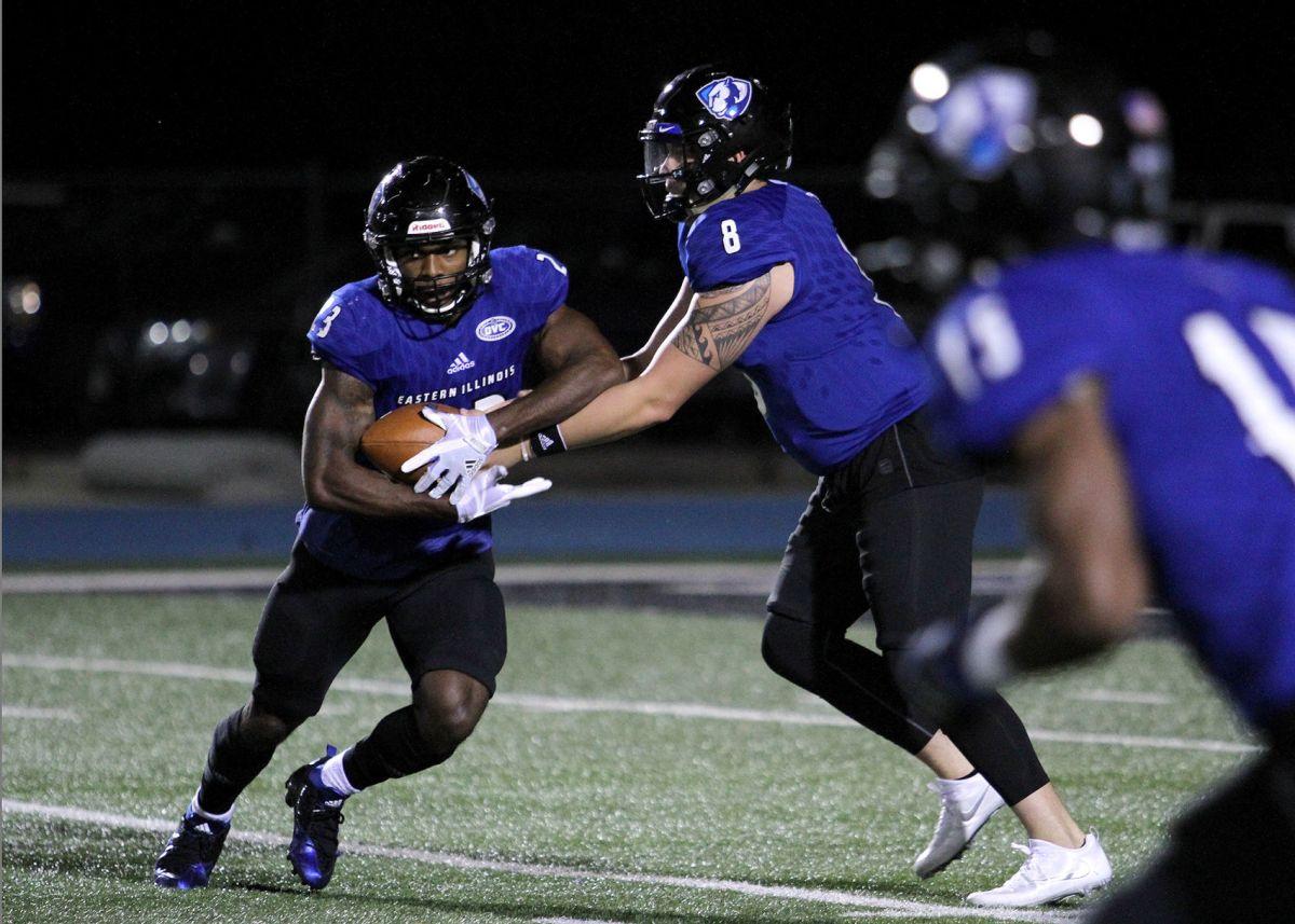 Running game still present in EIU's Air-Raid offense   College sports   herald-review.com
