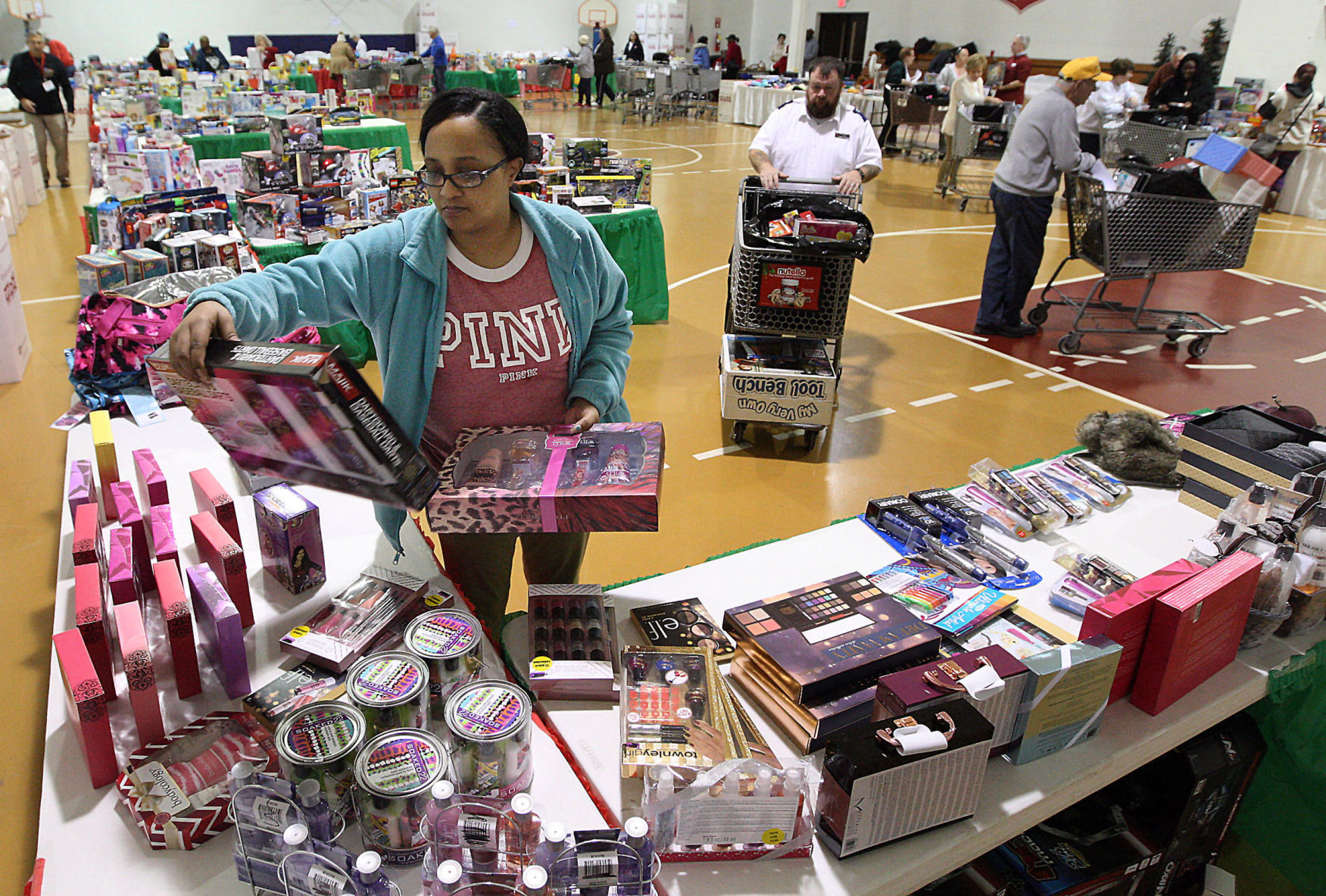 Toys For Tots Salvation Army Provide Thousands Of