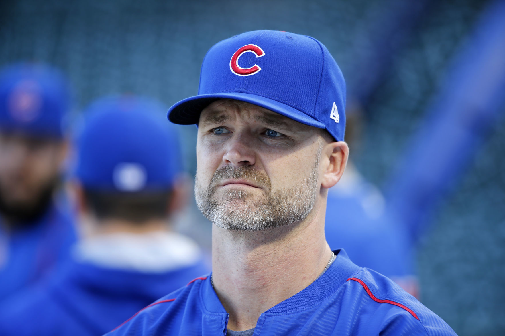 David Ross Was The Talk Of Wrigley Field During The Final