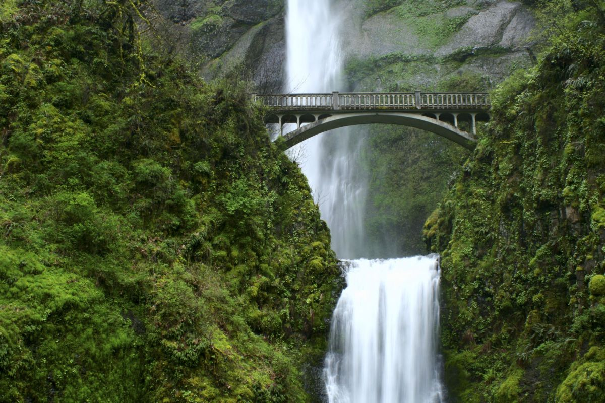 Multnomah Falls Oregon Winter Wallpaper Destinations Photo Contest Spotlight See Some Of Your