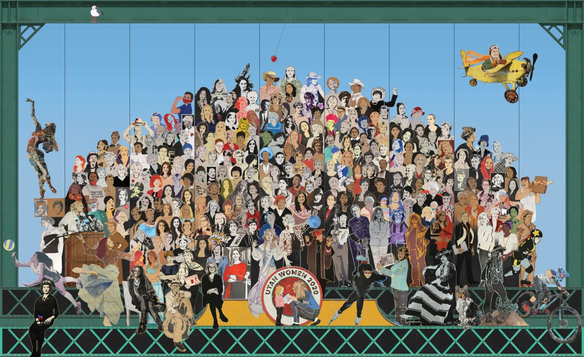Cache Women Featured In Mural Reminiscent Of Beatles Album Cover Local News Hjnews Com