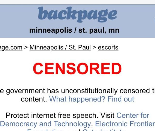 Safety Not Censorship Why Backpages Closure Is A Step Backward