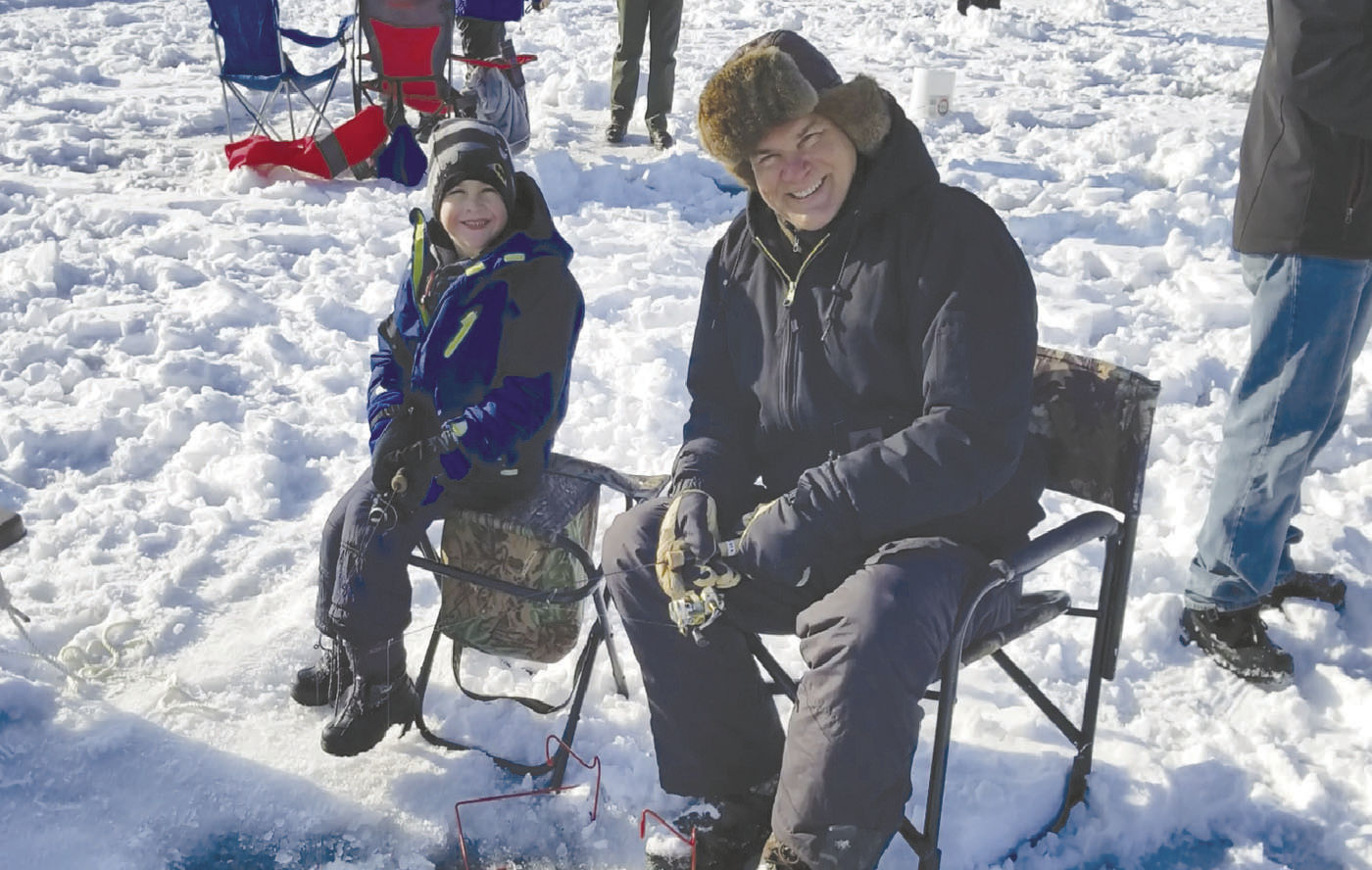 ice fishing lawn chair back massage eagan day sun this week hometownsource com