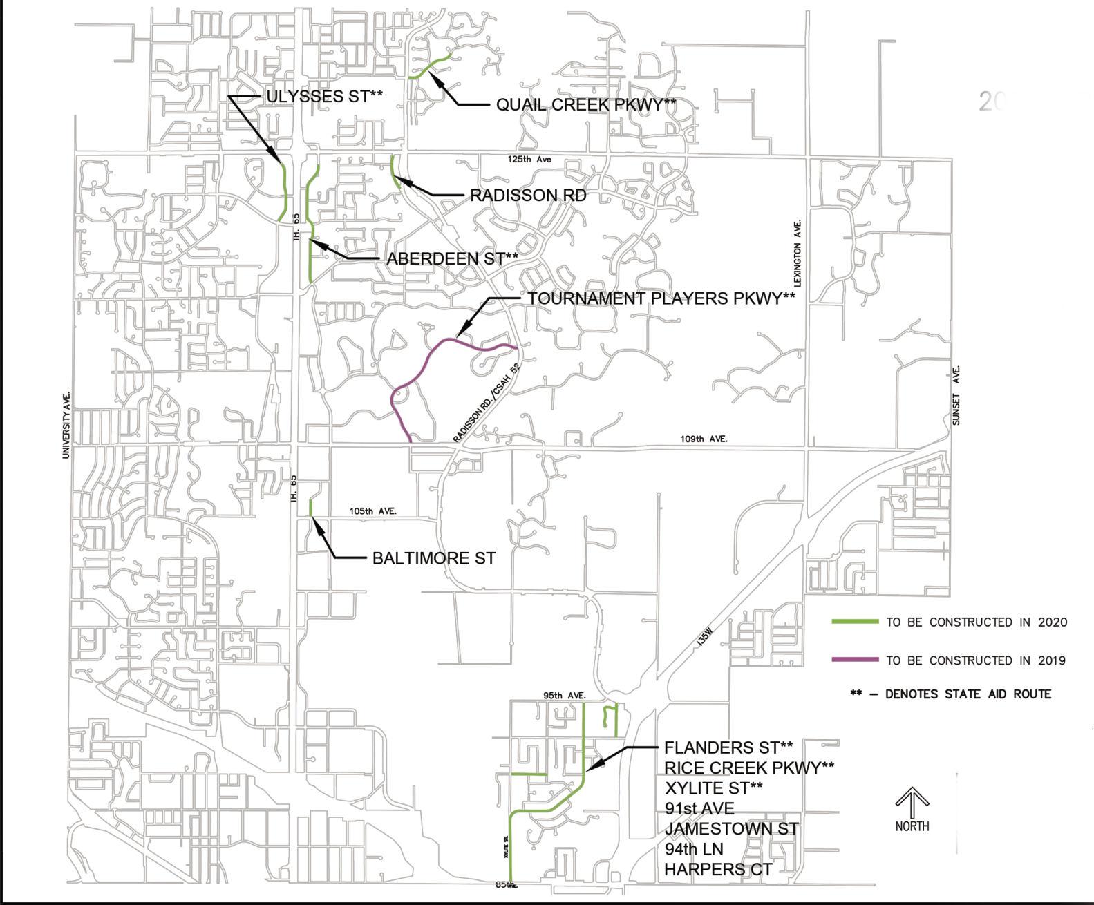 blaine approves 2019 2020 street reconstruction projects blaine hometownsource com [ 1200 x 993 Pixel ]