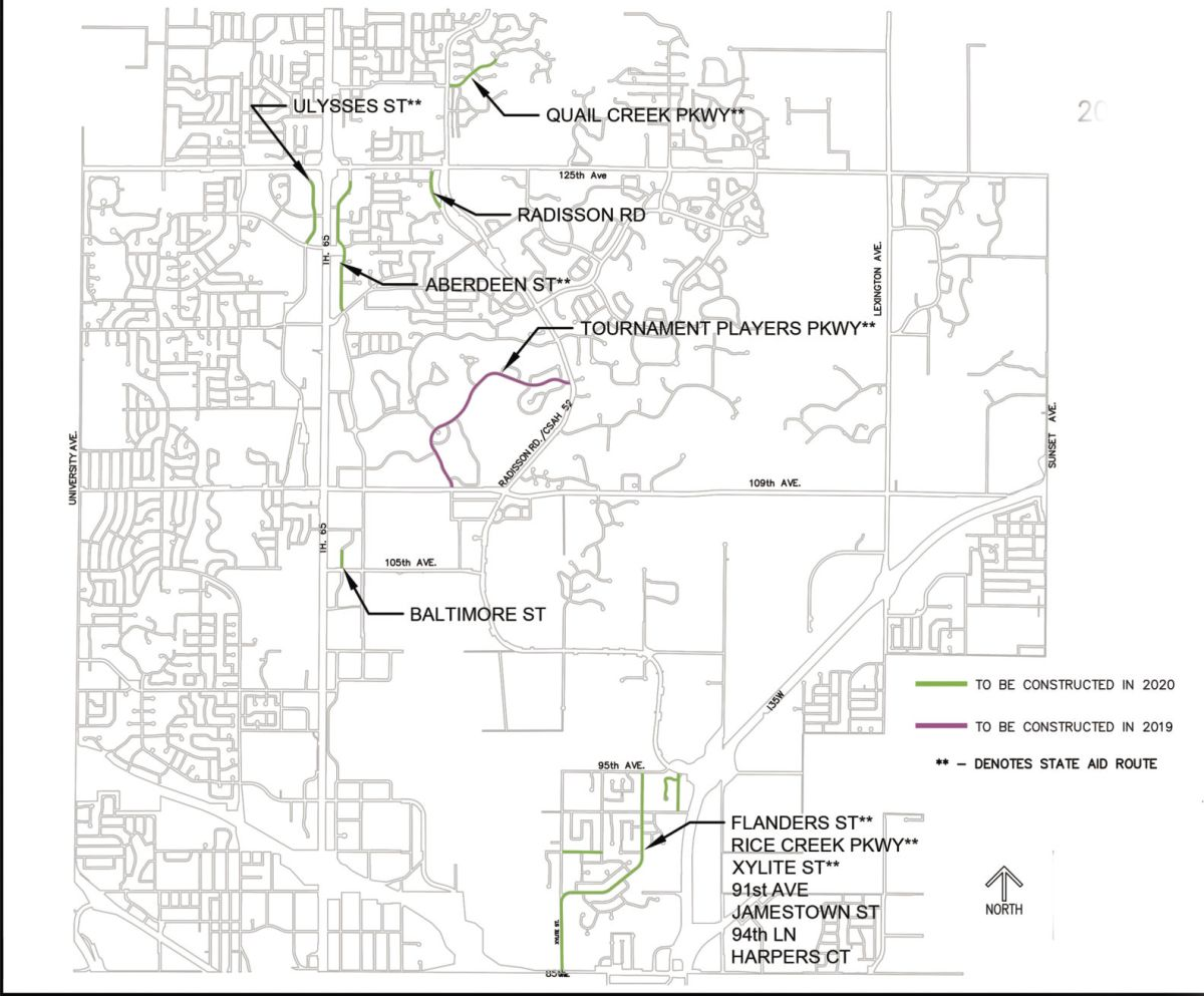hight resolution of blaine approves 2019 2020 street reconstruction projects blaine hometownsource com