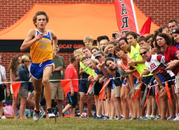 Prep cross country Wrong turn no problem for Olin Hacker Madison West  High School Cross