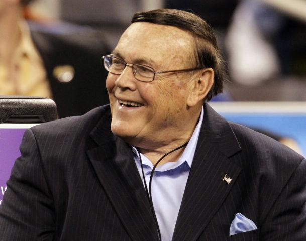 Badgers Mens Basketball Former Purdue Coach Gene Keady