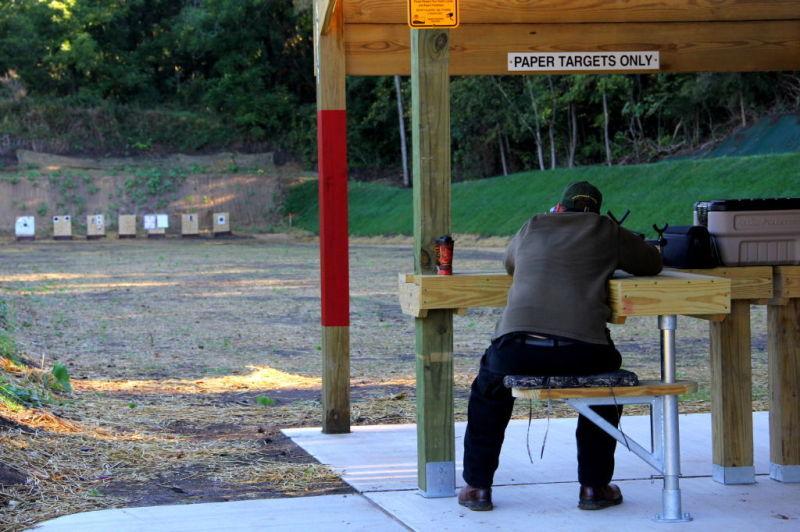 Jerry Davis Yellowstone public shooting range reopens