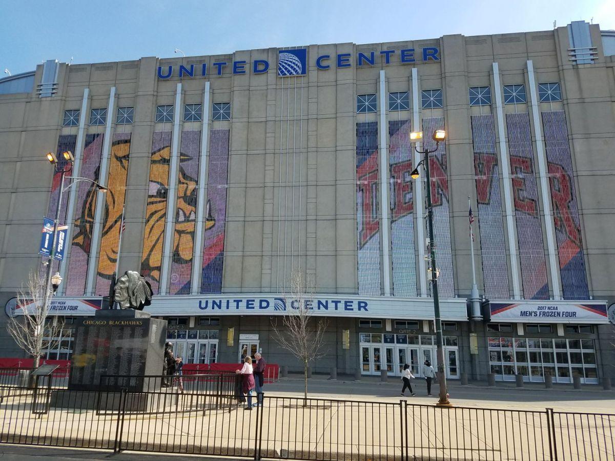 Chicago United Center Hockey