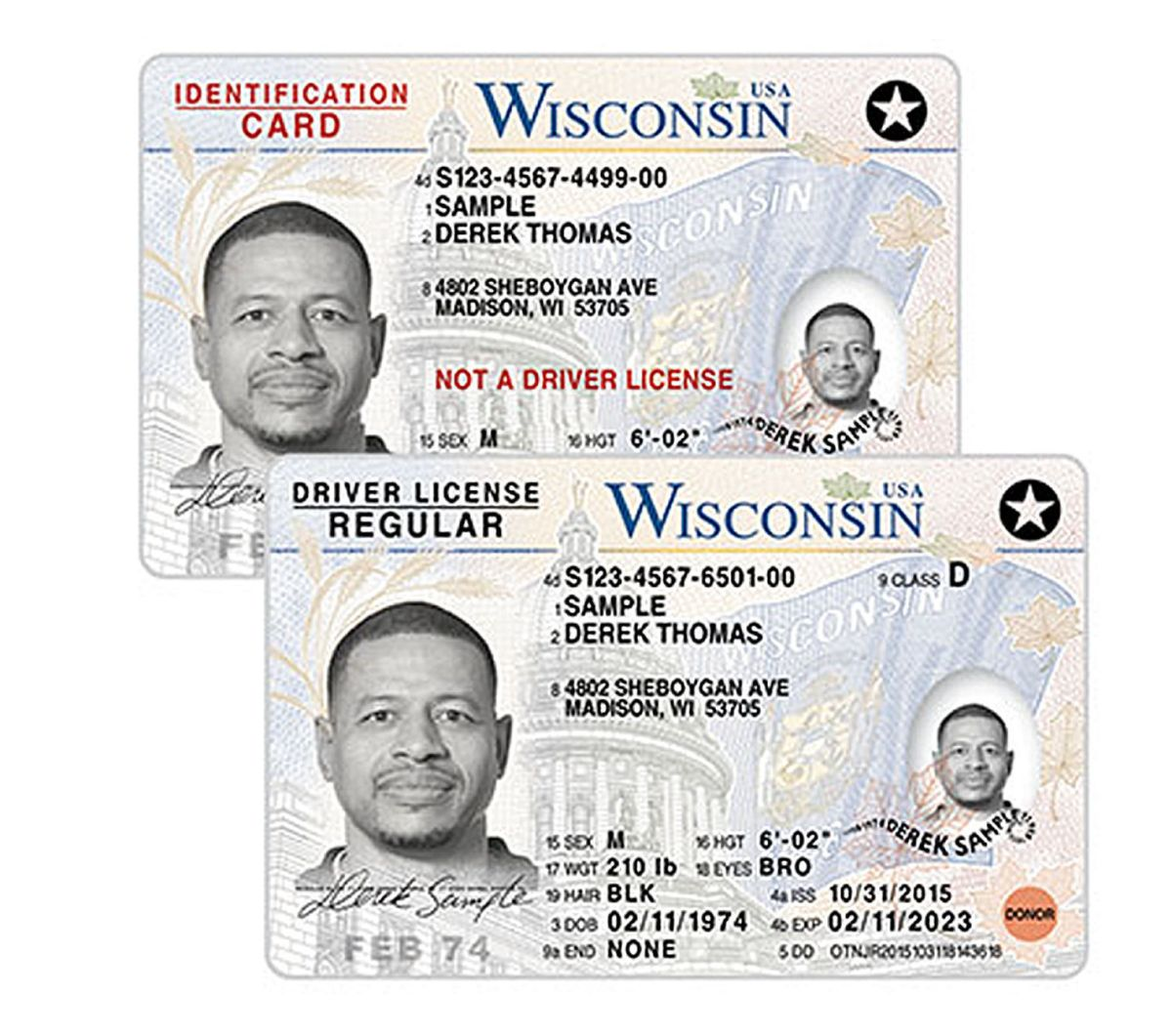 Old fashioned ohio drivers license template motif for Wisconsin drivers license template