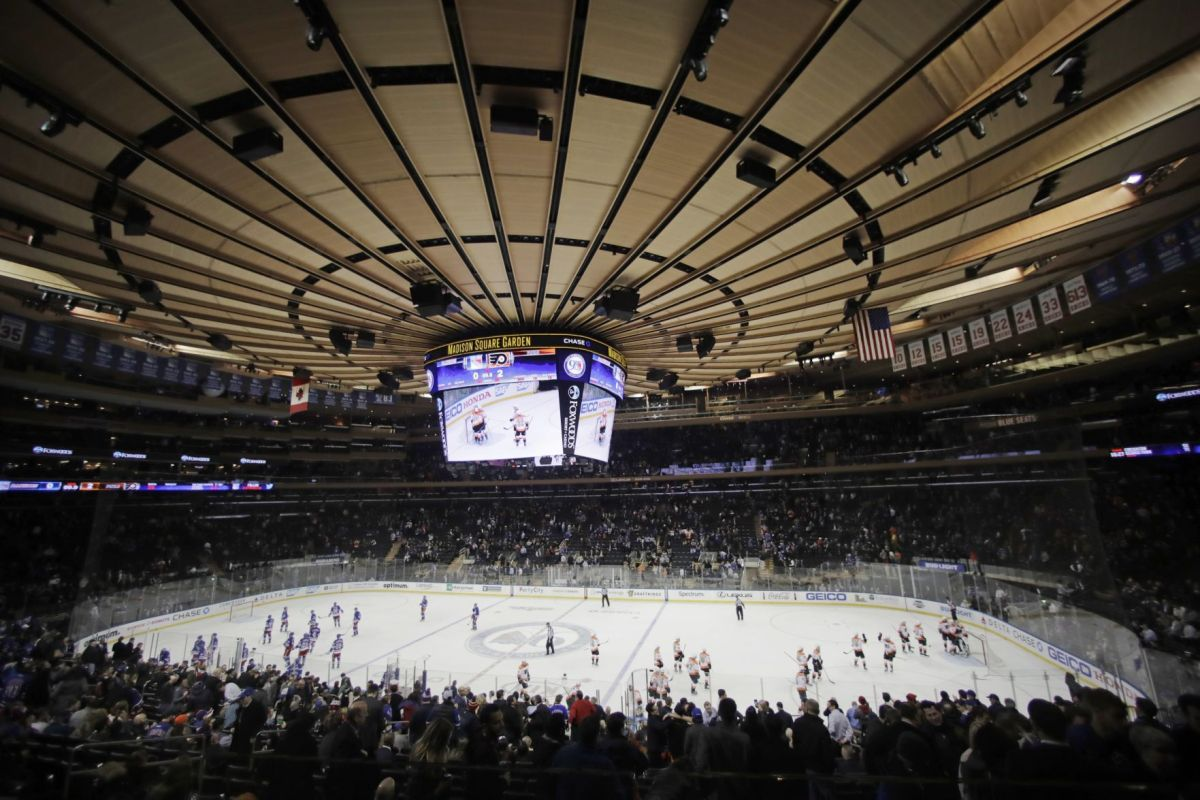 Badgers mens hockey Chance to play at Madison Square