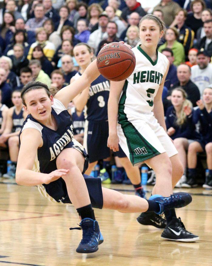 WIAA Girls Basketball Chelsea Ritter Leads La Crosse