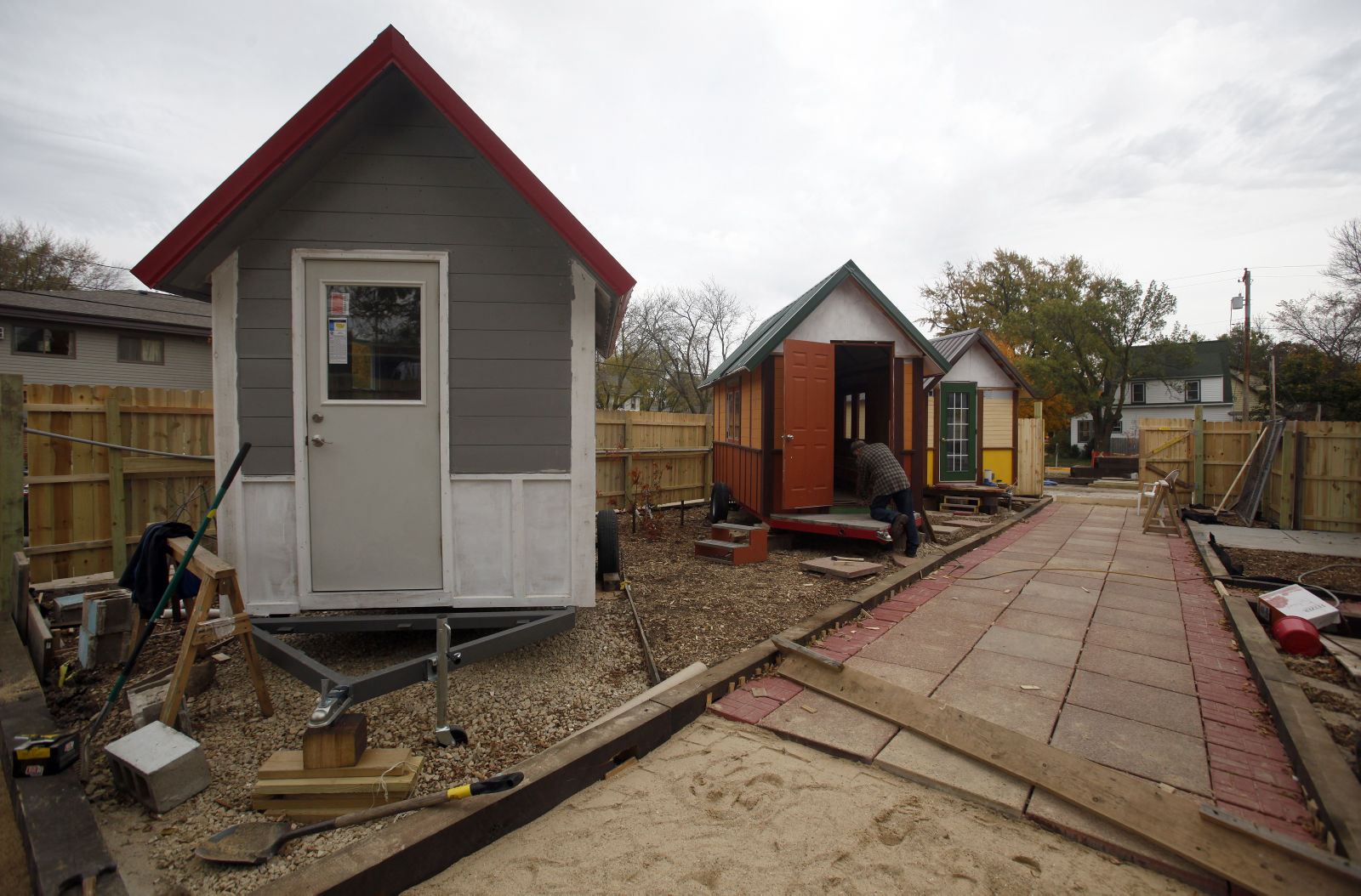 Occupy Madison S Village Of Tiny Houses For The Homeless