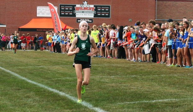 Prep cross country Wrong turn no problem for Olin Hacker