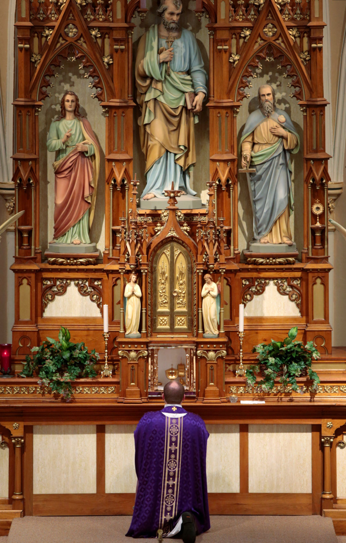 At Area Catholic Churches The Tabernacle Christ S