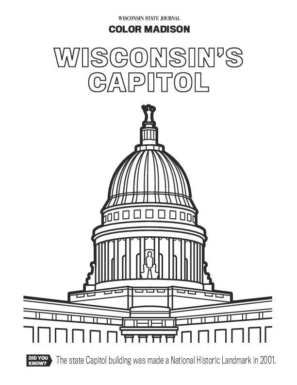 Pdf : Coloring book: Color in these Madison icons! : Wsj