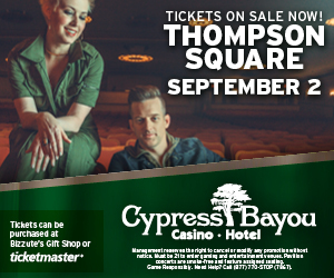Cypress Bayou (Thompson Square) - Newsletter Ad