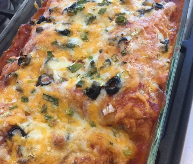 A Rich And Creamy Enchilada With Complex Flavors But So Simple To Make