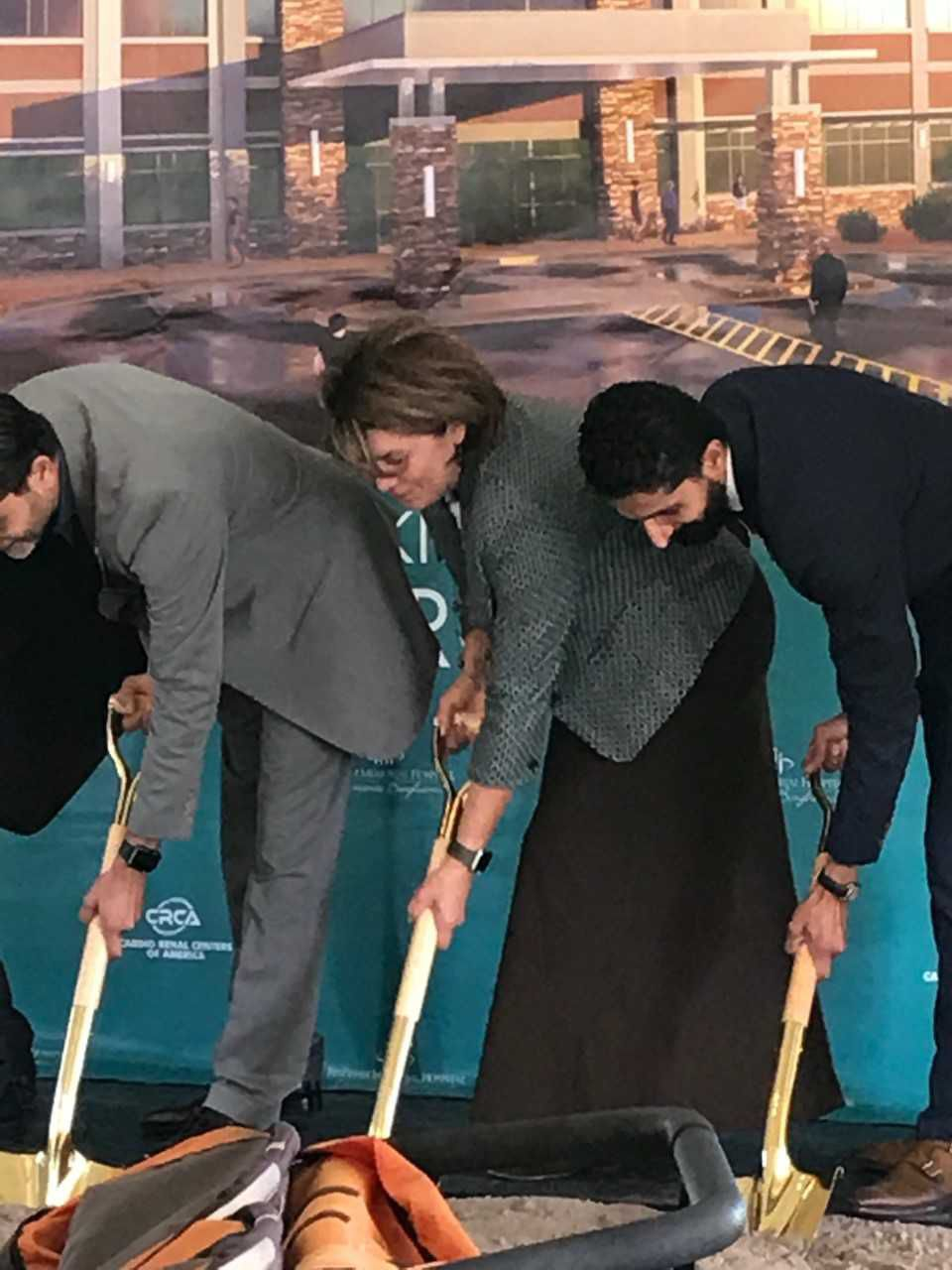 BMH and Cardio Renal Centers of America broke ground on a new medical facility in Idaho Falls