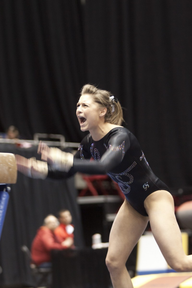 Freshman Gymnast Heads Home To Compete Sports