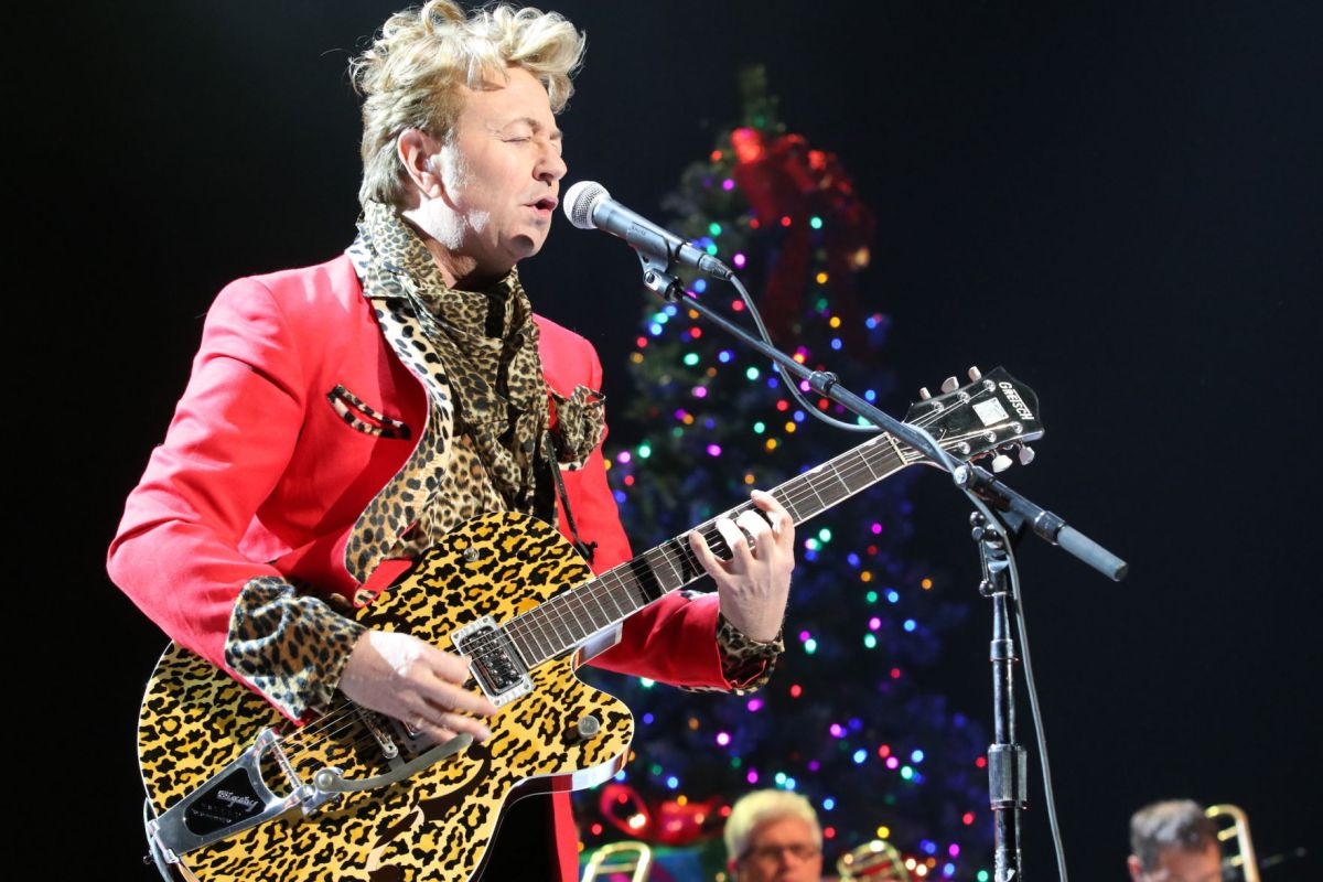 Brian Setzer A Guitar Hero In CY Stephens Limelight