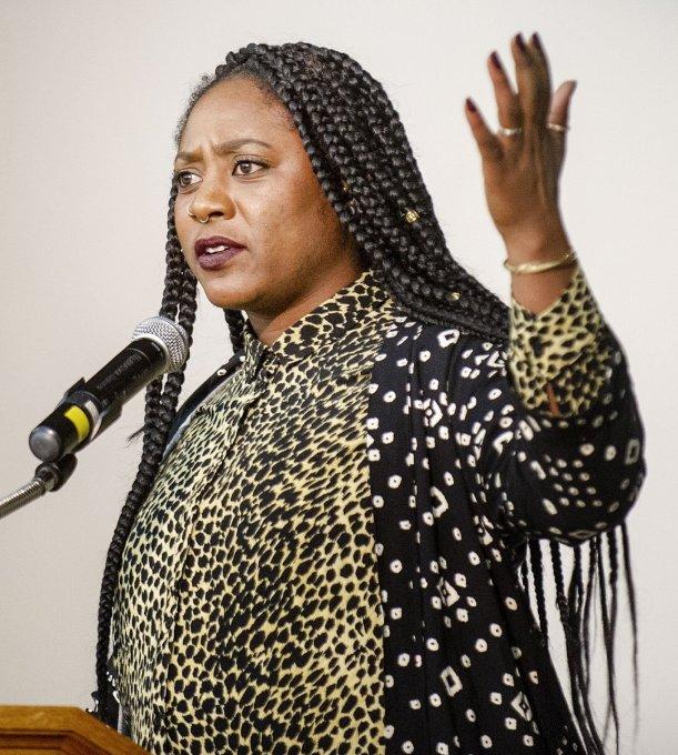 Black Lives Matter co-founder speaks at UNL   Education   journalstar.com