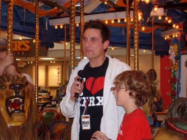 KFRX Personality Matt McKay Rides Carousel 12 Hours To Raise Money For Make A Wish Foundation Of