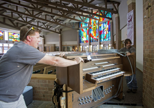 Photos St Joseph Catholic Churchs New Pipe Organ Gallery