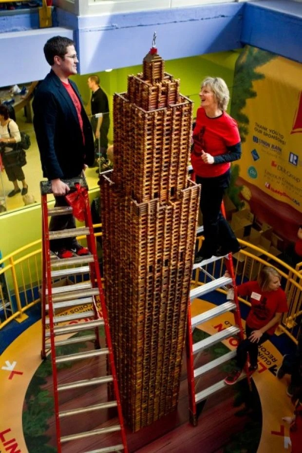 Guinness World Records certifies Lincoln Logs record  Lincoln NE Journal Star