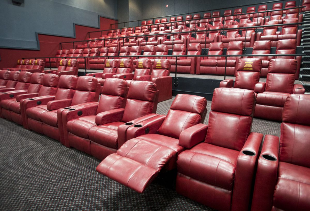 Marcus to remodel the Grand add recliners to all