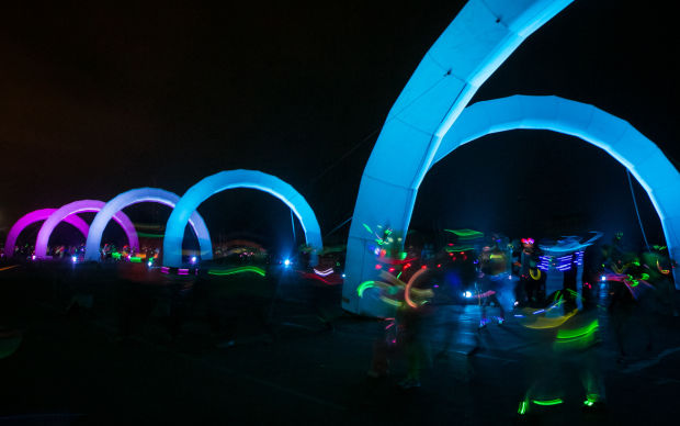 Glow-in-the-Dark  5k run