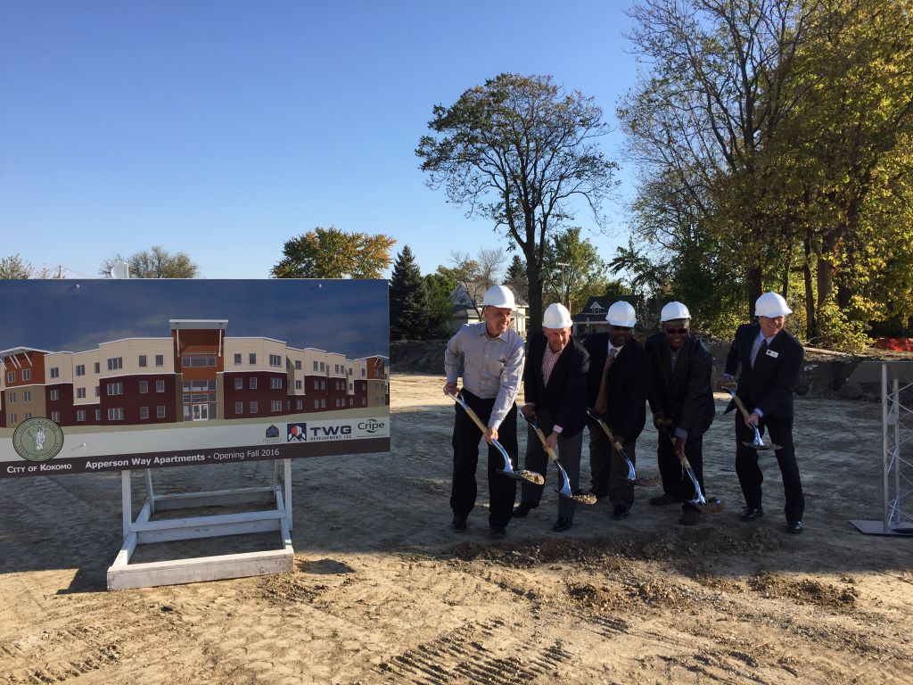 City Officials, Developers Break Ground On Apperson Way