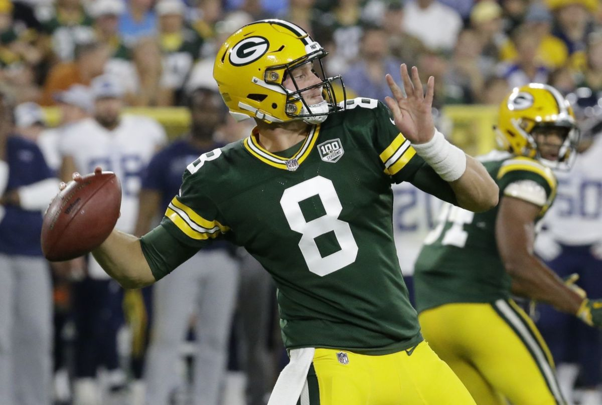 Packers' Tim Boyle Threw For 130 Yards And Two Touchdowns In The Preseason  Opener Against The Titans On Thursday Night.