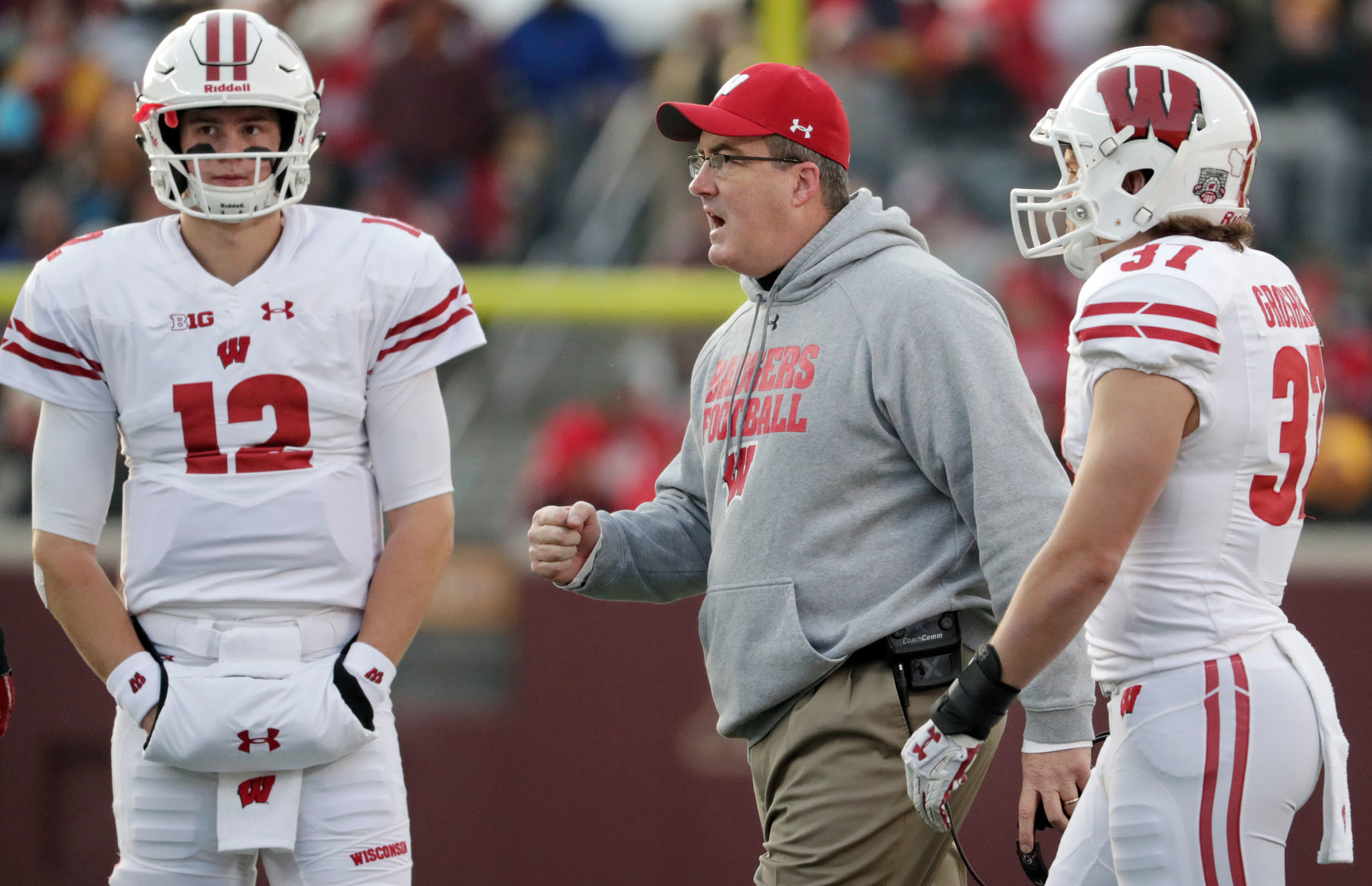 Chryst hornibrook post spring depth chart also projecting the badgers  college football rh madison