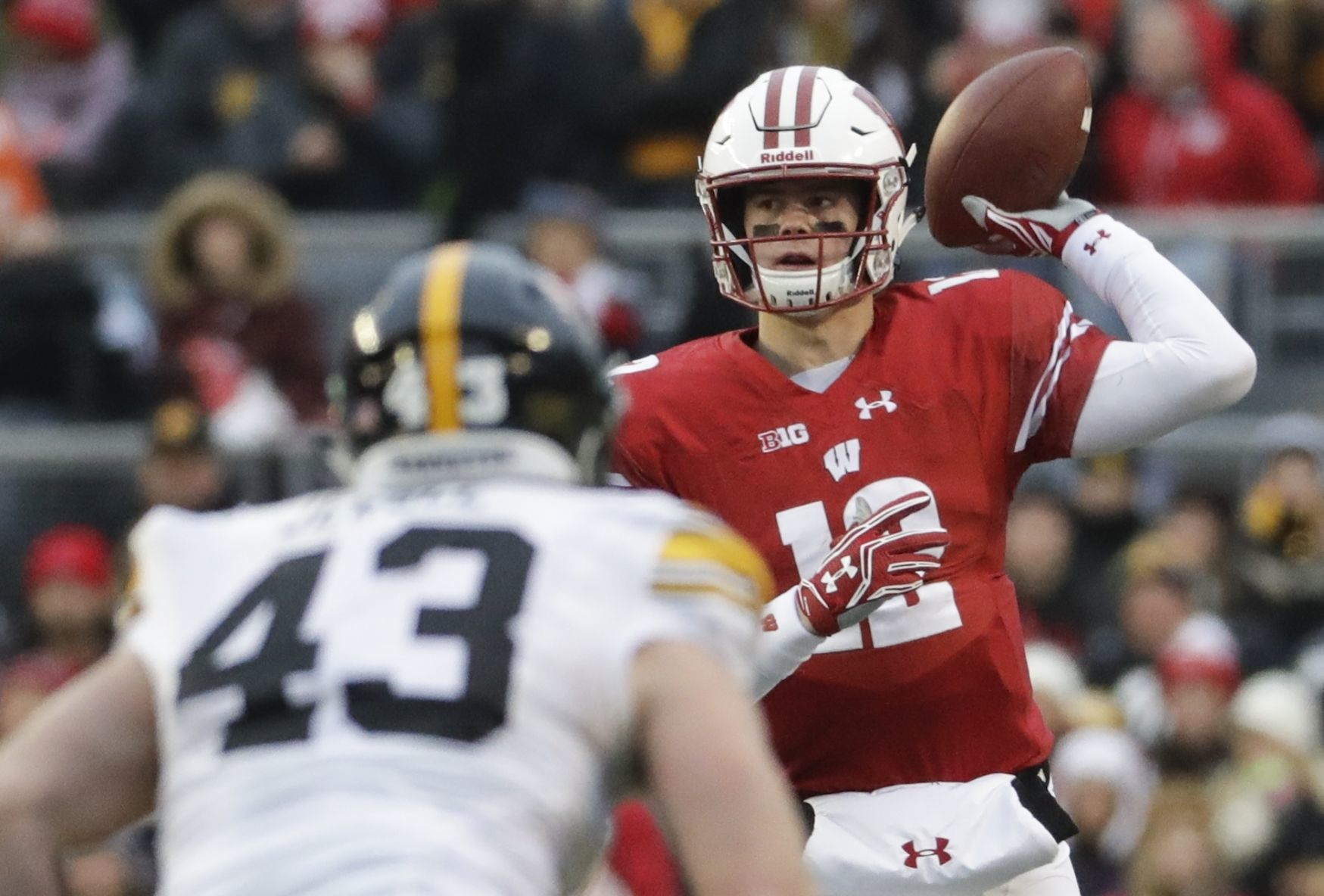 Alex hornibrook projected depth chart wisconsin   also projecting the badgers as season opener approaches rh madison
