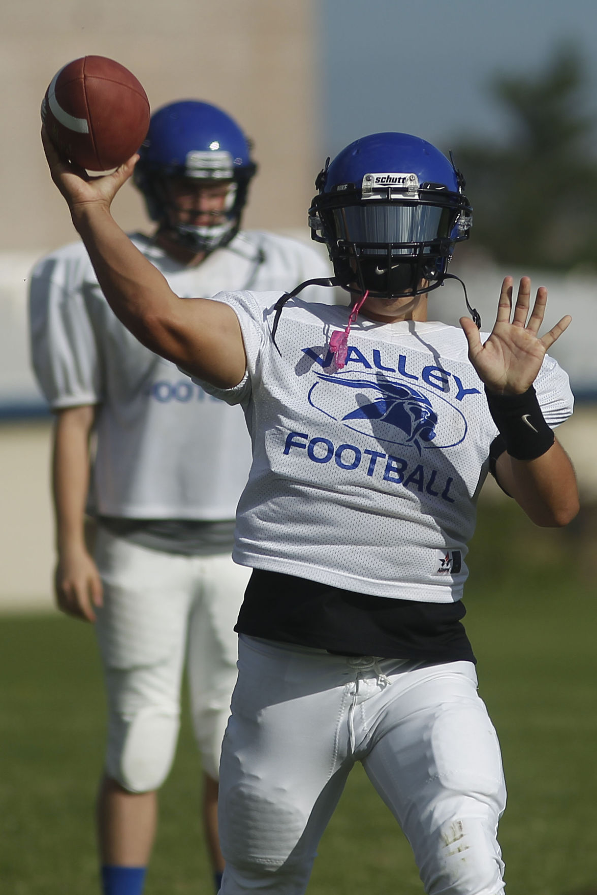 Prep Football Report Valley Ready To Finish What It