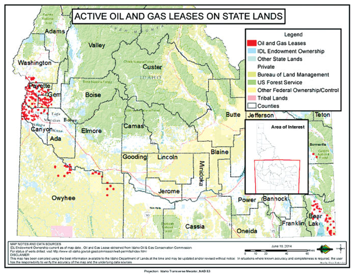 Cassia County Land For Lease In State Oil And Gas Auction