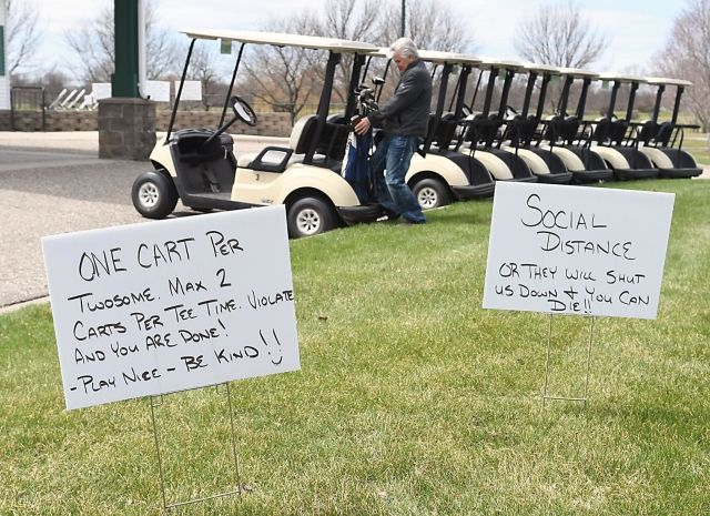 Golf Courses Adjusting Well To New
