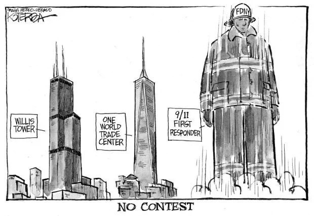CARTOON: No question that 9/11 responders have higher