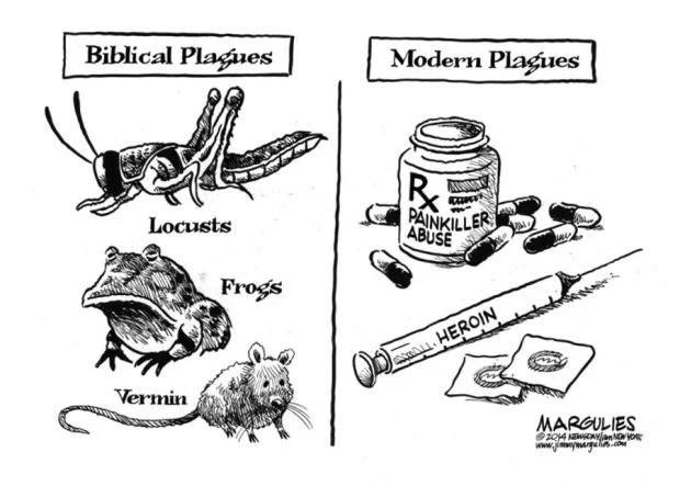 CARTOON: Modern epidemics of prescription drug, heroin