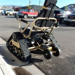 Wheelchair Trailer Blue Chair Bay Hats Missoula Police Disabled Veteran 39s Tracked And