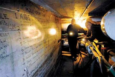 Tunnel vision: UM's network of underground steam passageways holds hints of the past, while $9 million upgrade will bring system into the future