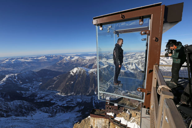 Step into the Void  A new tourist attraction in the French Alps