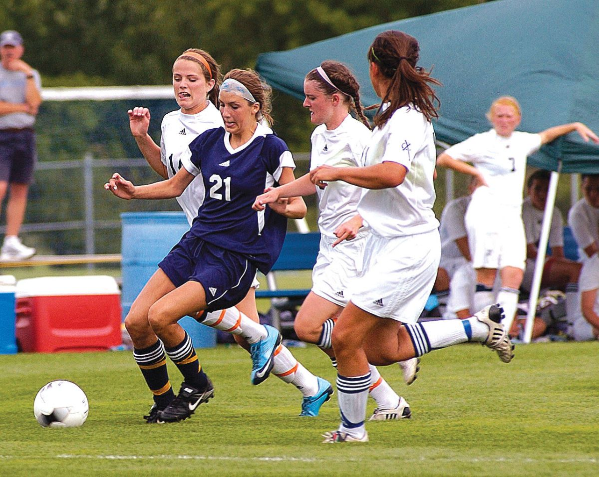Girls State Soccer Tournament Bettendorf Stuns Top-ranked