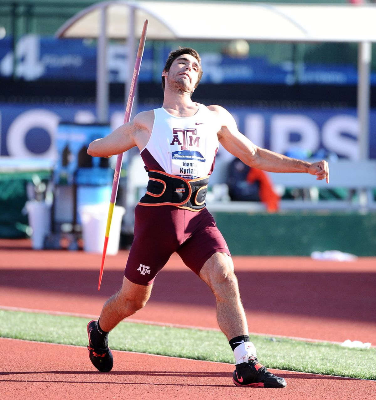 A Conversation With A Amp M Javelin Thrower Ioannis Kyriazis