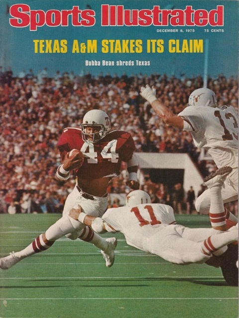 Today In Aggie History A Amp M Football Great Bubba Bean Was
