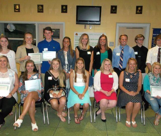 Chs Alumni Association Scholarship Winners